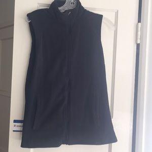 EMS, black, zip up vest